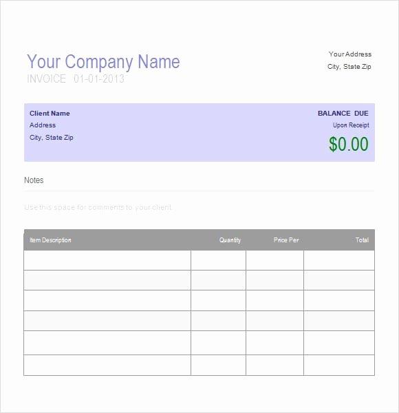 Automotive Repair Invoice Template Fresh Auto Repair Invoice Template Printable Word Excel