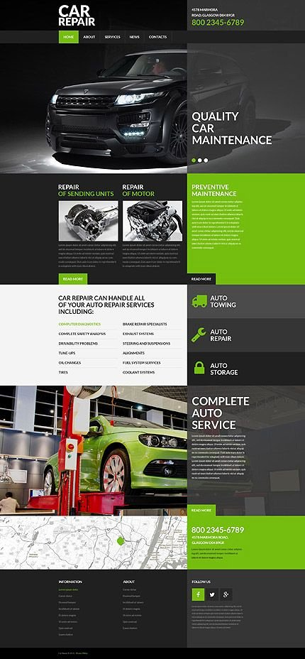 Automotive Repair Website Template Elegant Best 25 Portal Website Ideas On Pinterest