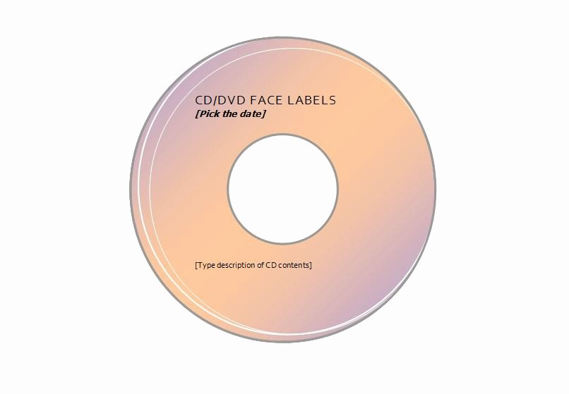 Avery 5931 Template Photoshop Elegant Cd Labels Bing Images