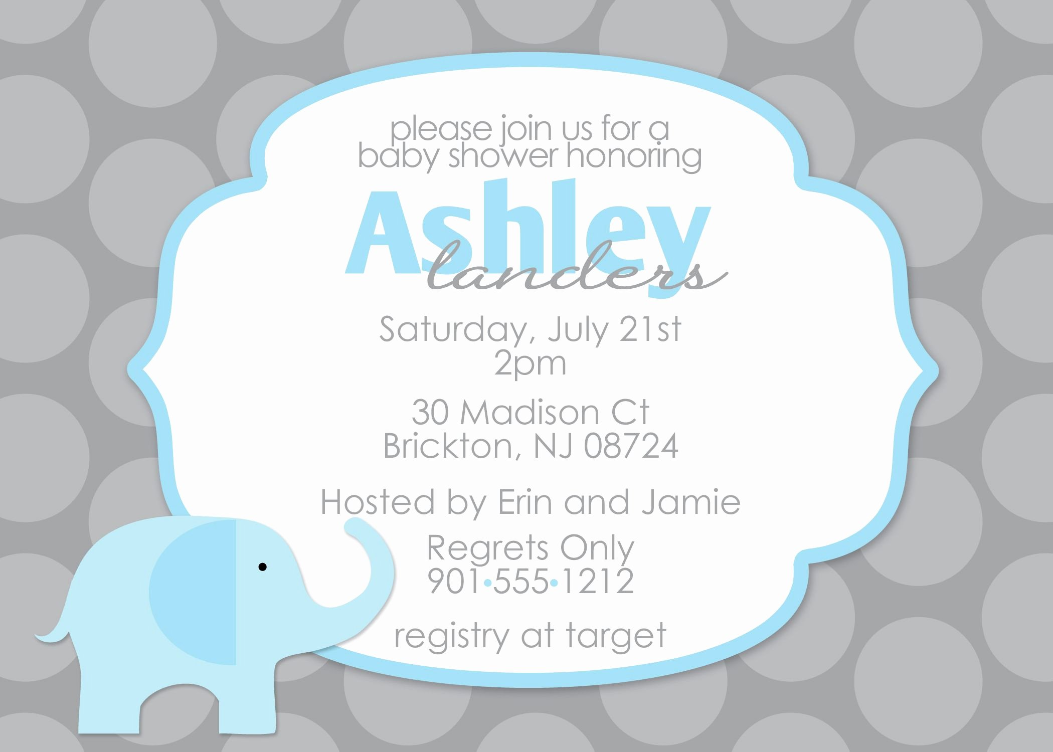 Baby Announcement Template Free Beautiful Baby Shower Invitation Free Baby Shower Invitation