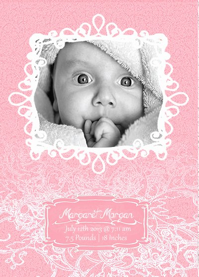 Baby Announcement Template Free Luxury Free Shop and Vector Baby Announcement Templates On