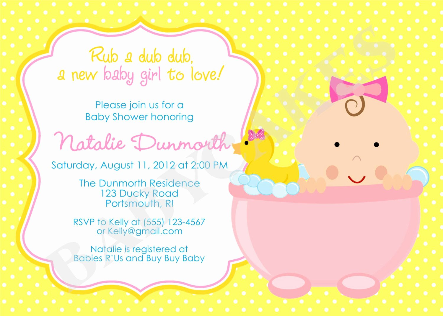 Baby Announcement Template Free Luxury How to Plan Rubber Ducky Baby Shower Ideas