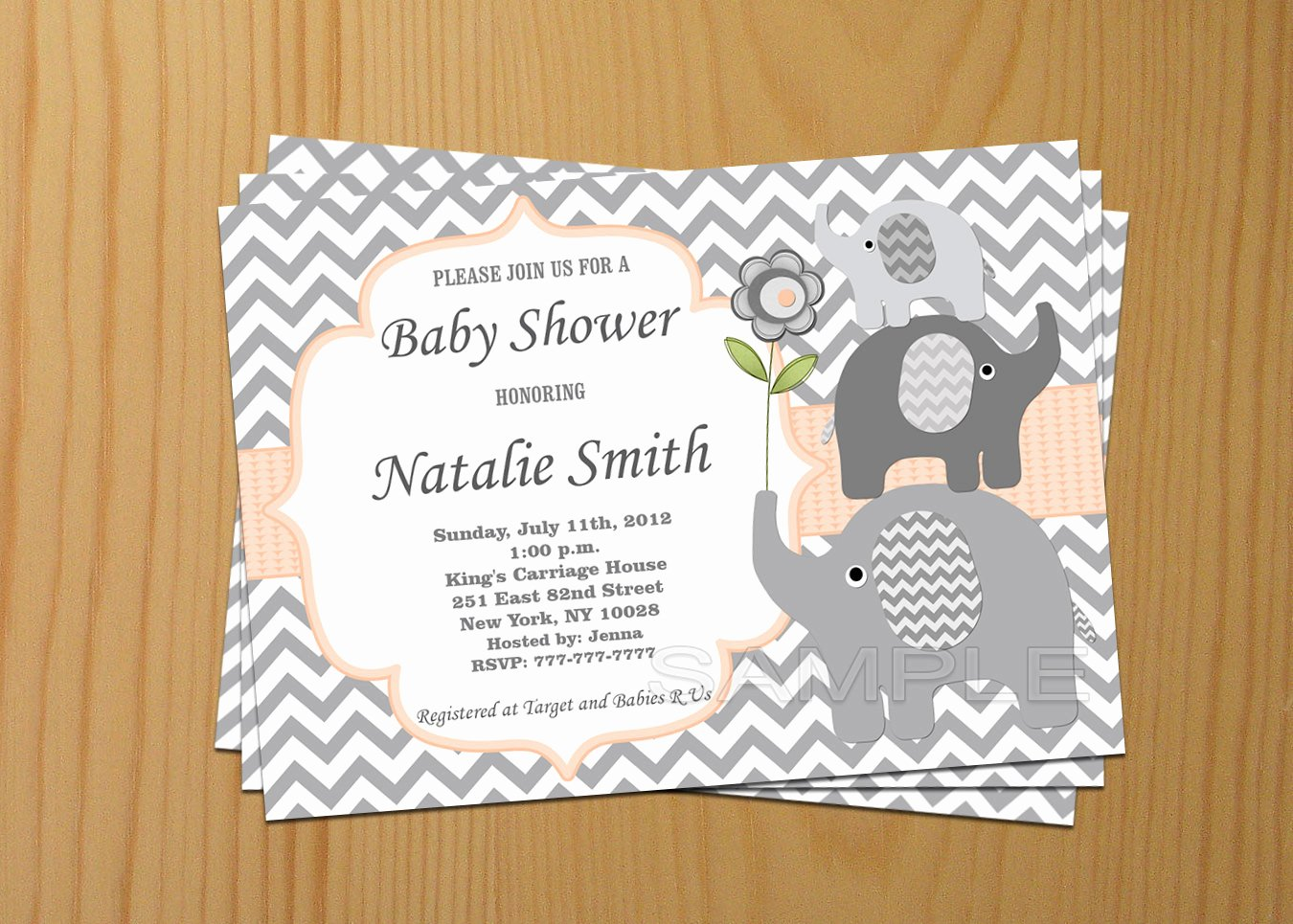 Baby Announcement Template Free New Able Baby Shower Invitations Downloadable Baby