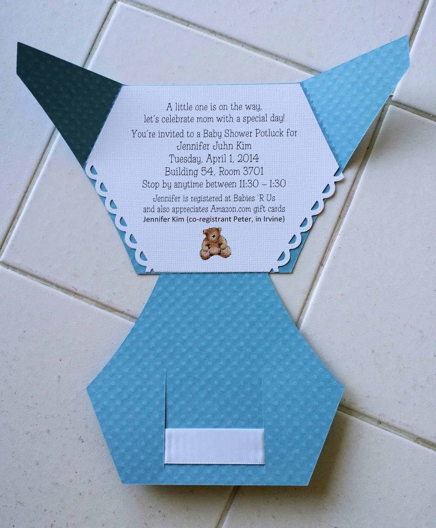 Baby Diaper Invitation Template Elegant Diaper Invitation Template Cricut Templates Resume