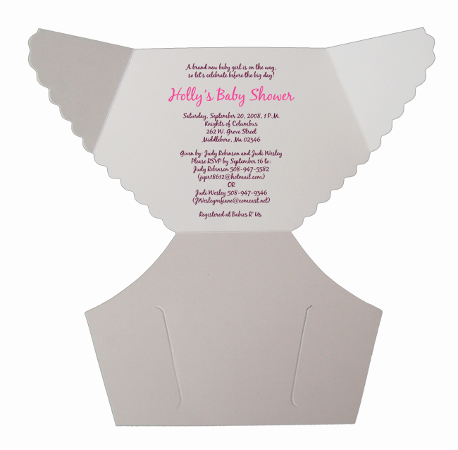 Baby Diaper Invitation Template Elegant Free Baby Diaper Invitation Template