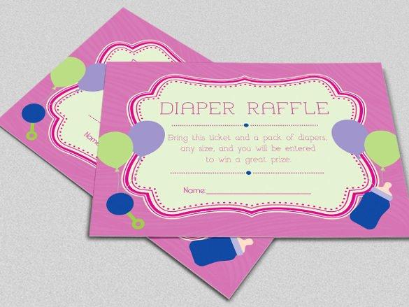 Baby Diaper Invitation Template Luxury 35 Diaper Invitation Templates – Psd Vector Eps Ai