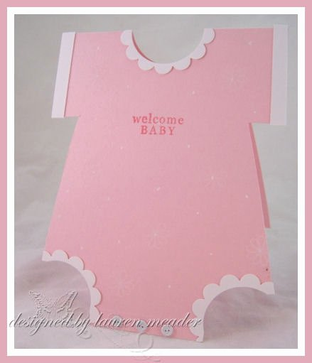 Baby Onesie Invite Template Awesome Create Your Own Esie Card Tutorial and Important Note