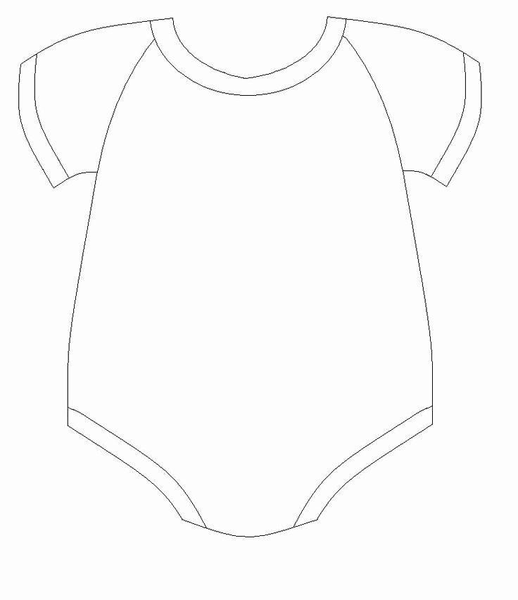 Baby Onesie Invite Template Best Of Baby Esie Drawing at Getdrawings