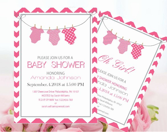 Baby Onesie Invite Template Best Of Esie Invitation Template 15 Free Psd Vector Eps Ai Fixed