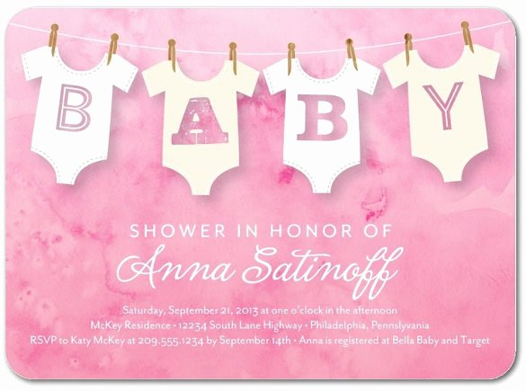 Baby Onesie Invite Template New 14 Esie Invitation Template Free Psd Vector Eps Ai