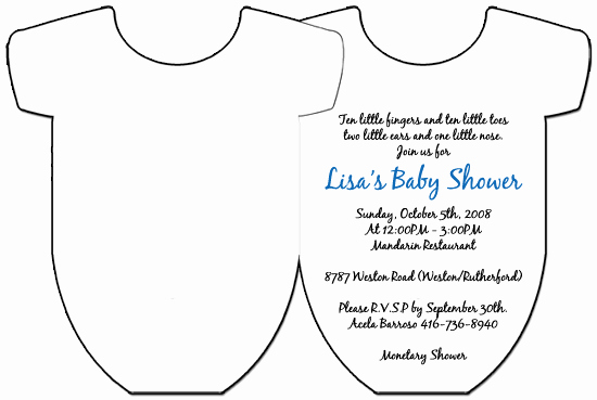 Baby Onesie Invite Template New Baby Esie Invitation Template Yourweek Eca25e
