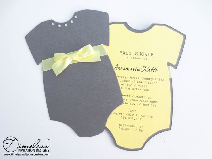 Baby Onesies Invitations Template Beautiful 17 Best Ideas About Baby Shower Invitation Templates On