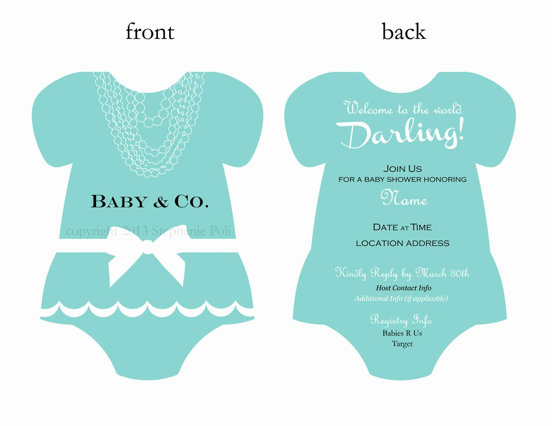 Baby Onesies Invitations Template Fresh Templates Esie Baby Shower Invitations Etsy Plus