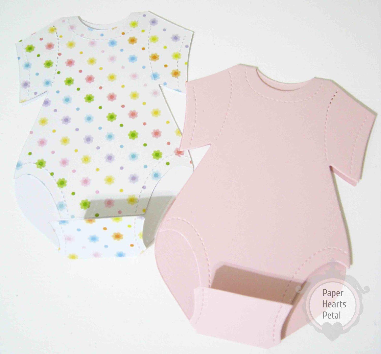 Baby Onesies Invitations Template Inspirational Diy Esie Invitation Kit 12 Invitations Printed Inserts