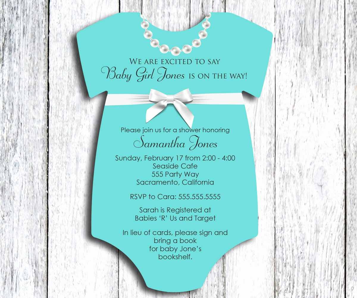 Baby Onesies Invitations Template Inspirational Onesie Baby Shower Invitation Esie Baby Shower