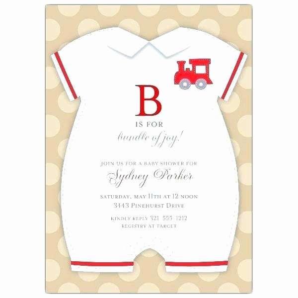 Baby Onesies Invitations Template New Baby Invitation Template Printable A Shower Invitations