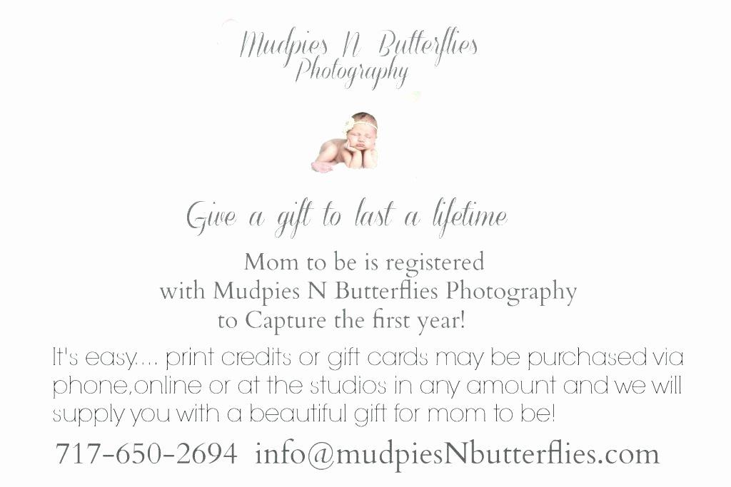 Baby Registry Card Template Elegant Baby Shower Registry Cards Baby Shower Gift Registry