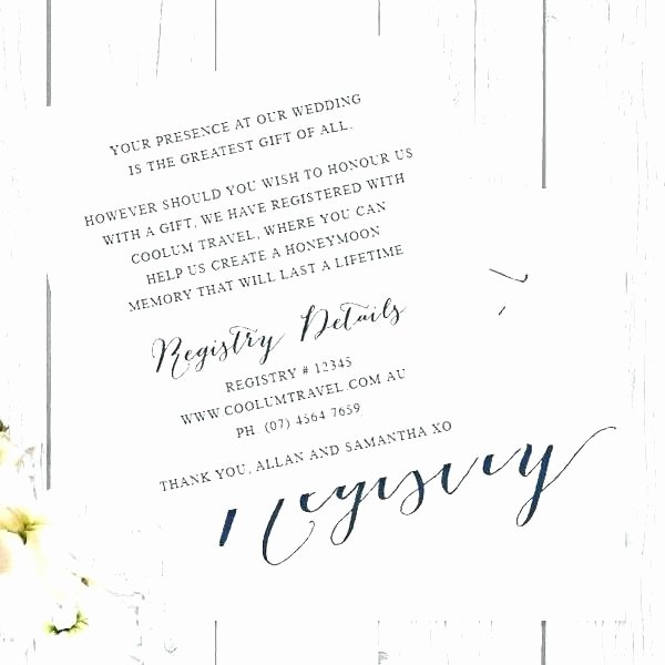 Baby Registry Card Template Luxury Baby Shower Registry Cards Template – Macolineo