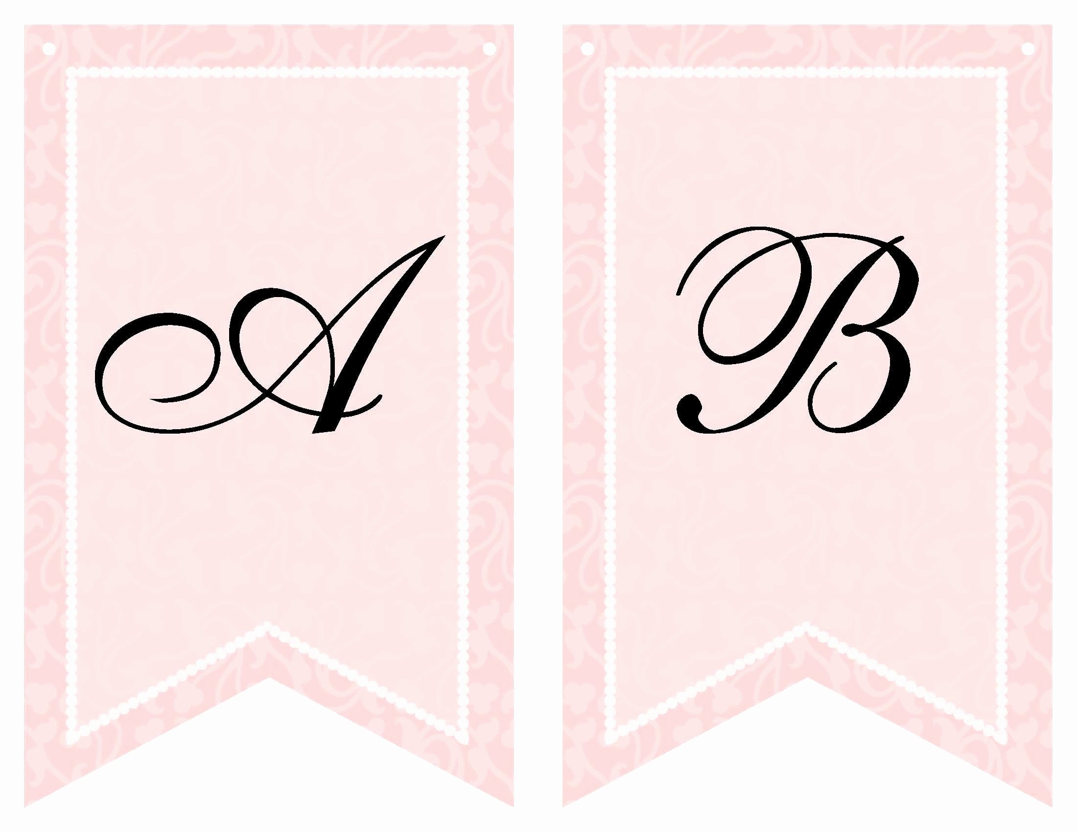 Baby Shower Banner Template Elegant Free Printable Bridal Shower Banner Vow Renewal