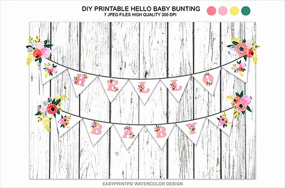 Baby Shower Banner Template New 20 Baby Shower Banner Templates – Free Sample Example