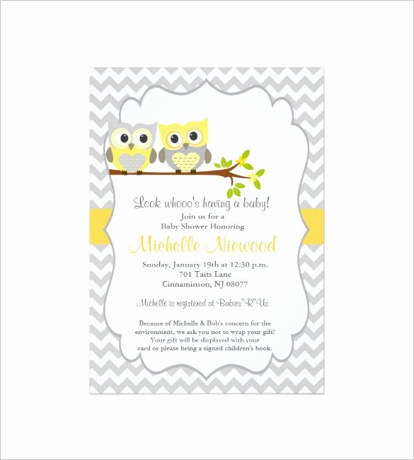 Baby Shower Card Template Awesome 35 Baby Shower Card Designs & Templates Word Pdf Psd