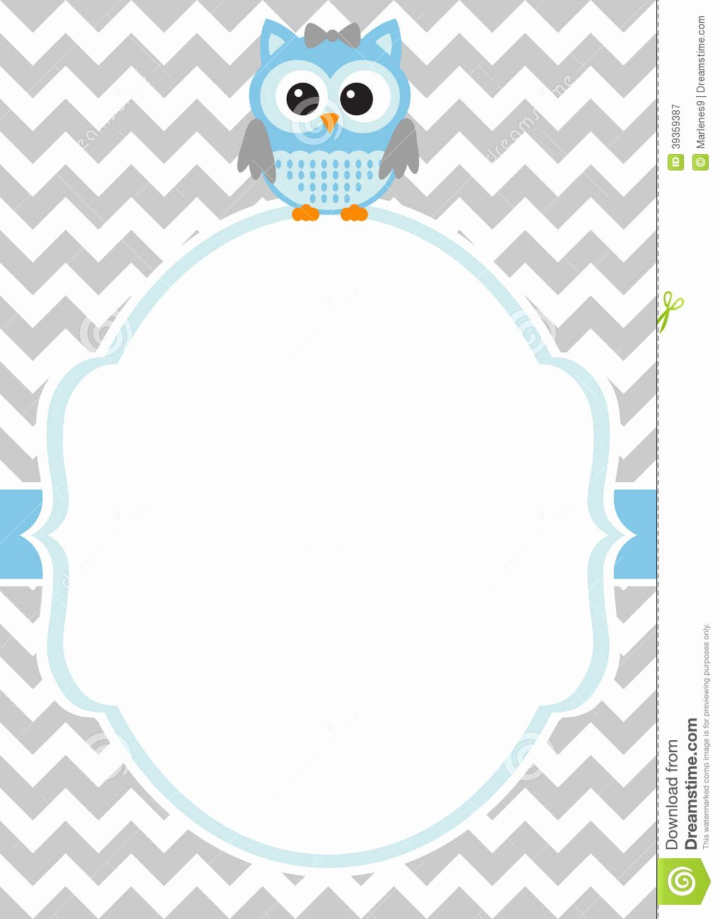 Baby Shower Card Template Beautiful Baby Shower Baby Boy Invitation Card Template Stock
