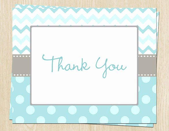 Baby Shower Card Template Elegant 20 Baby Shower Thank You Cards – Free Printable Psd Eps