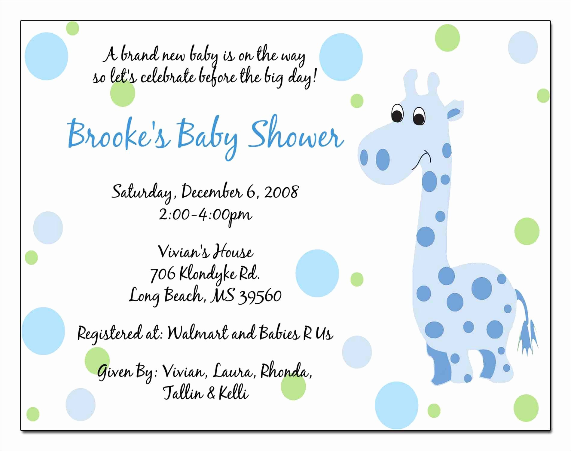 Baby Shower Card Template Luxury Baby Shower Invitation Cards In Gujarati Yourweek