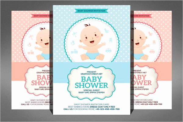 Baby Shower Flyer Template Beautiful 26 Baby Shower Flyer Templates Free Psd Word Sample Ideas