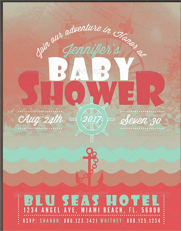 Baby Shower Flyer Template Best Of 8 Baby Shower Flyer Printable Psd Ai Vector Eps