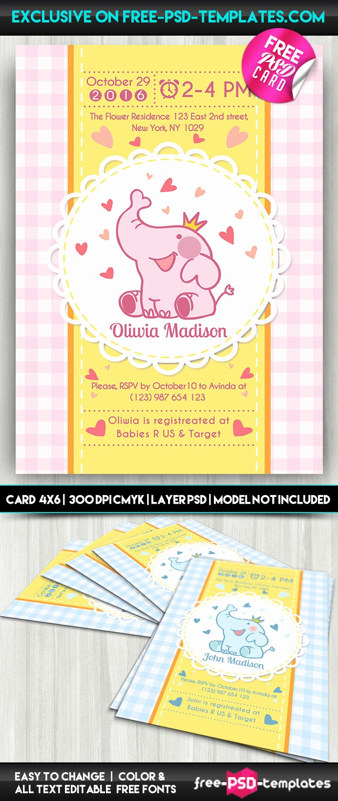 Baby Shower Menu Template Best Of Download Free software Free Menu Card Templates Psd