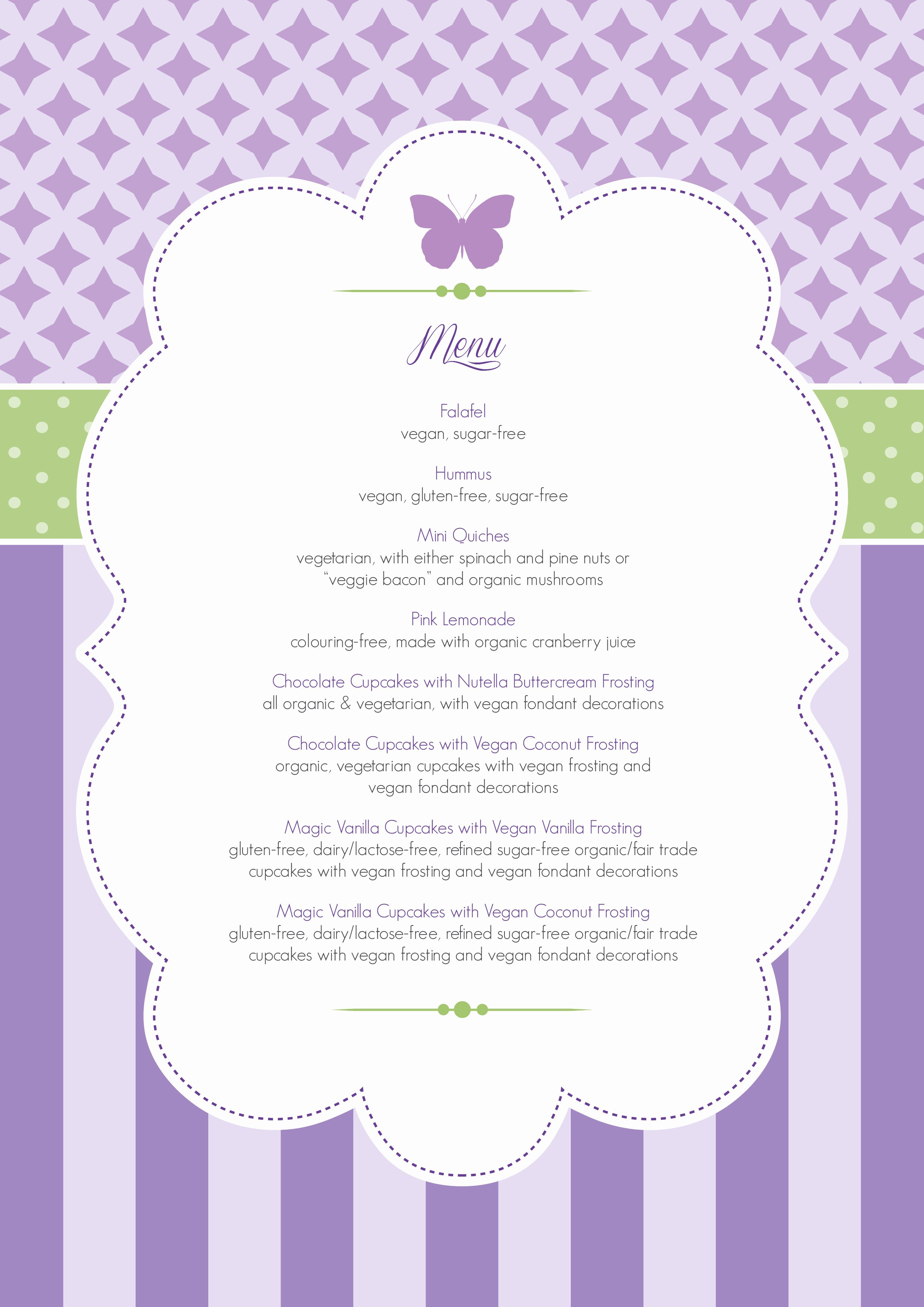 Baby Shower Menu Template Best Of the Plete Blessingway Round Up with Lots Of Free