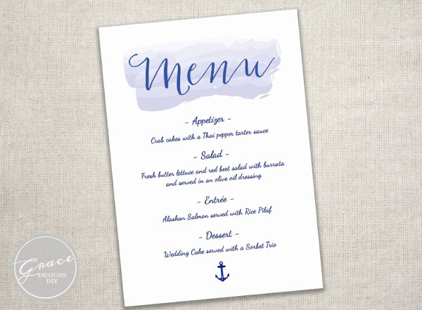 Baby Shower Menu Template Elegant 8 Baby Shower Menu Templates Psd Vector Eps Ai
