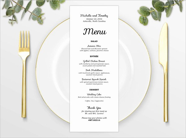 Baby Shower Menu Template Fresh 8 Baby Shower Menu Templates Psd Vector Eps Ai