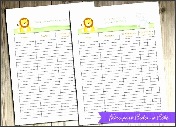 Baby Shower Planner Template Lovely 4 Baby Shower Planner Editable Sampletemplatess