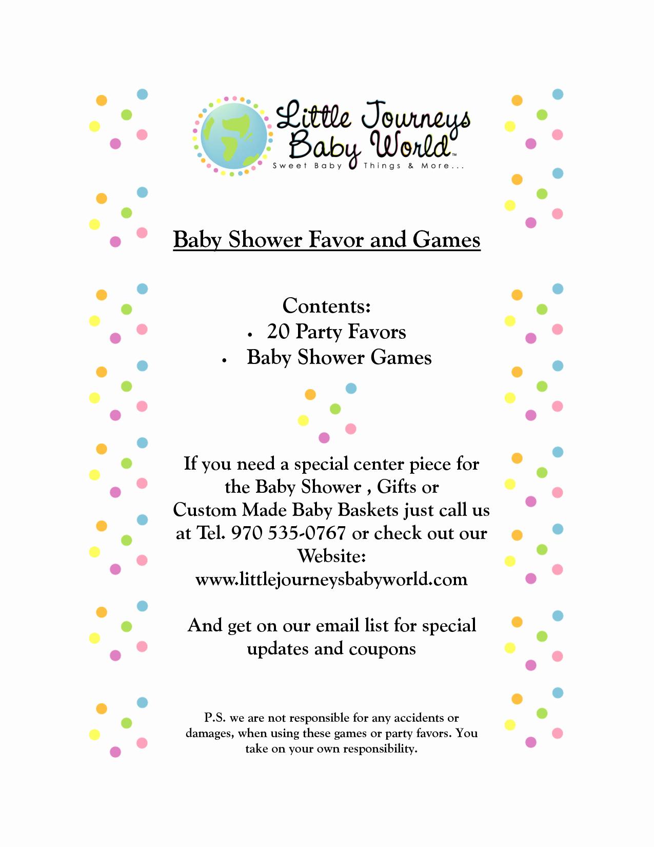 Baby Shower Program Template Luxury Baby Shower Agenda Template Portablegasgrillweber