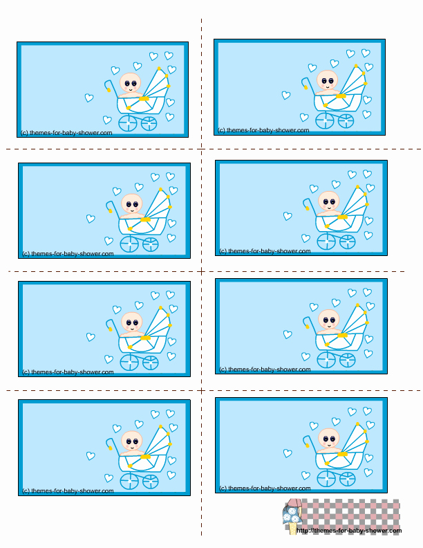 Baby Shower Tag Template Awesome 7 Best Of Printable Labels Templates Baby Shower