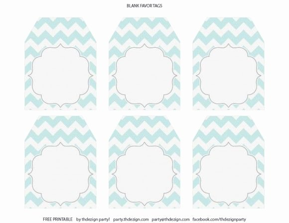 Baby Shower Tag Template Awesome Free Chevron Party Printables From Thdezign Party