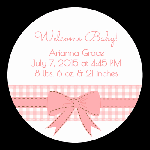 Baby Shower Tag Template Beautiful Baby Shower Label Templates Get Free Downloadable Baby