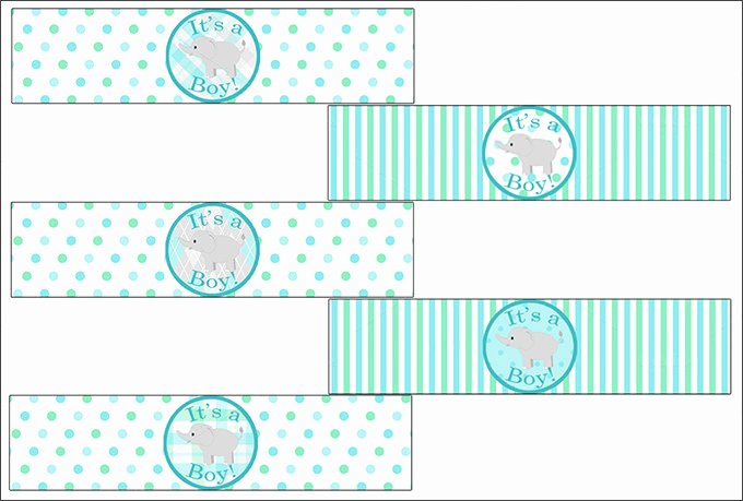 Baby Shower Tag Template Best Of Water Bottle Label Template – 29 Free Psd Eps Ai