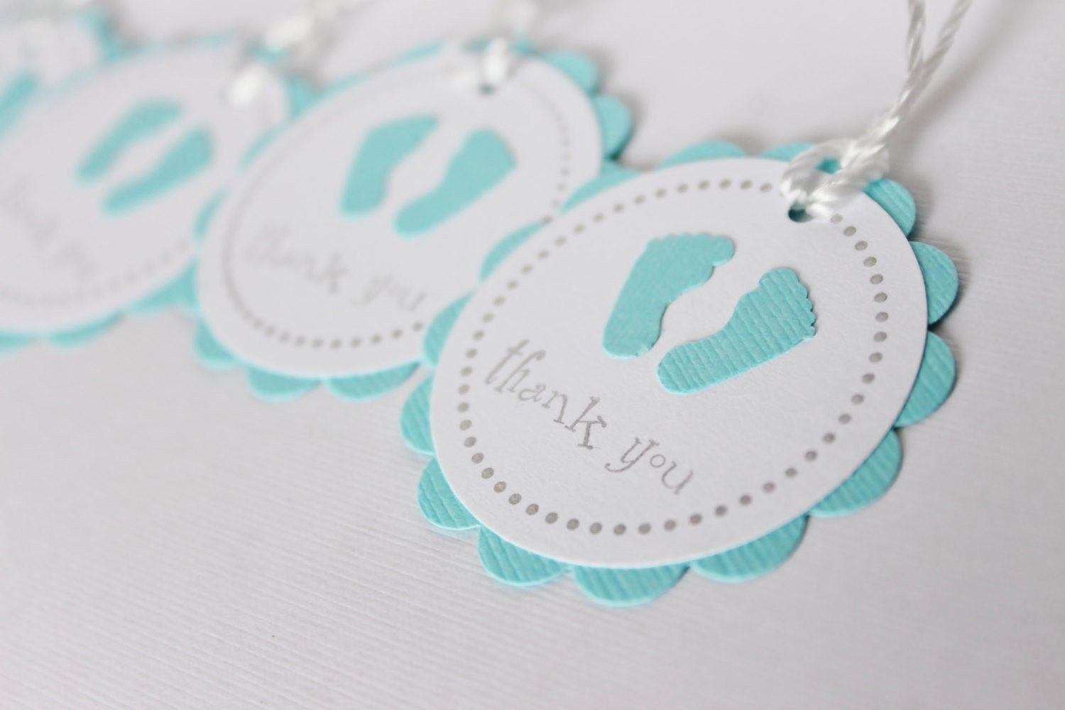 Baby Shower Tag Template Elegant Baby Shower Favor Tags Baby Feet Thank You Tags by