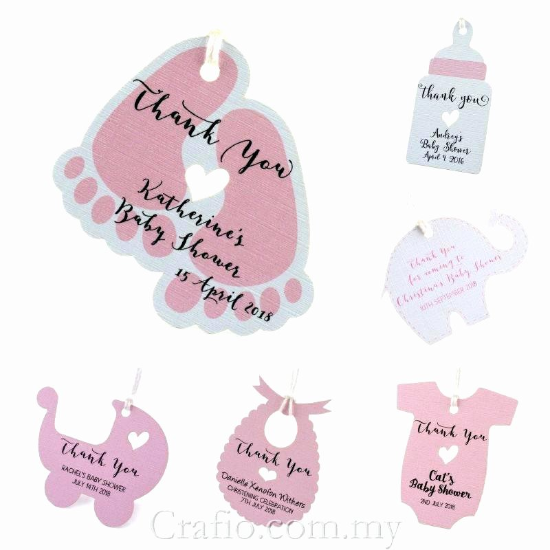 Baby Shower Tag Template Elegant Baby Shower Gift Tags by Shower Gift Tag Shower Gift Tags
