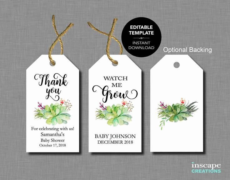 Baby Shower Tag Template Inspirational Best 25 Baby Shower Templates Ideas On Pinterest
