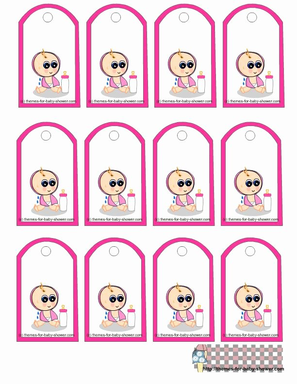 Baby Shower Tag Template Luxury 158 Best Images About Templates On Pinterest