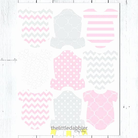 Baby Shower Tags Template Lovely Version 1 Baby Shower Tags Pink Elephant Editable Hang