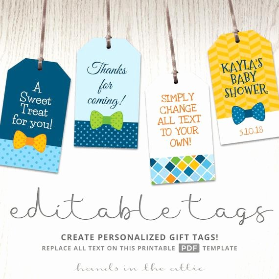 Baby Shower Tags Template Luxury Baby Boy T Tags Favor Tags Template Printable Cutouts