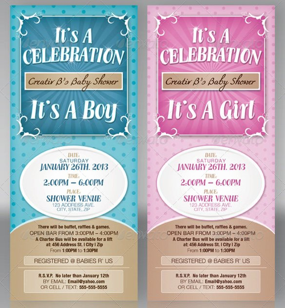 Baby Shower Template Word Fresh 39 Baby Shower Invitation Templates Psd Vector Eps Ai