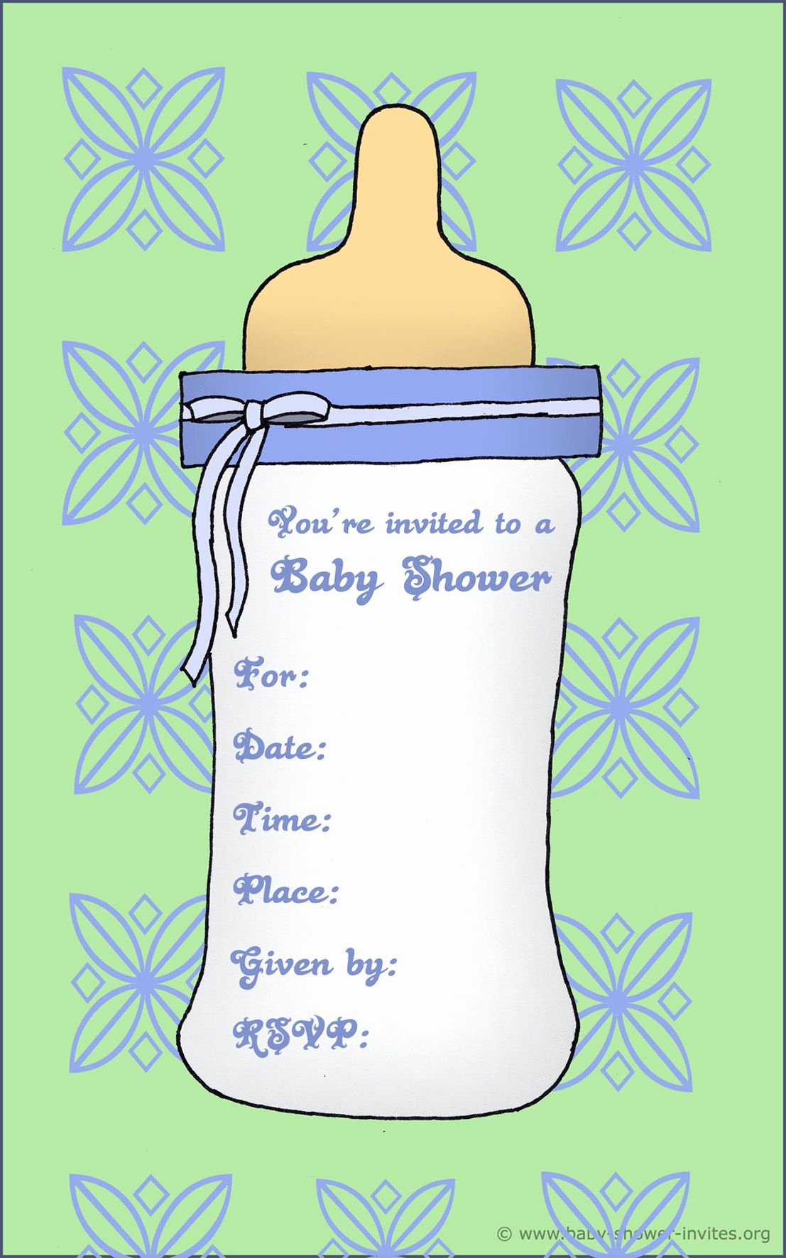 Baby Shower Template Word Inspirational Free Baby Invitation Template Free Baby Shower