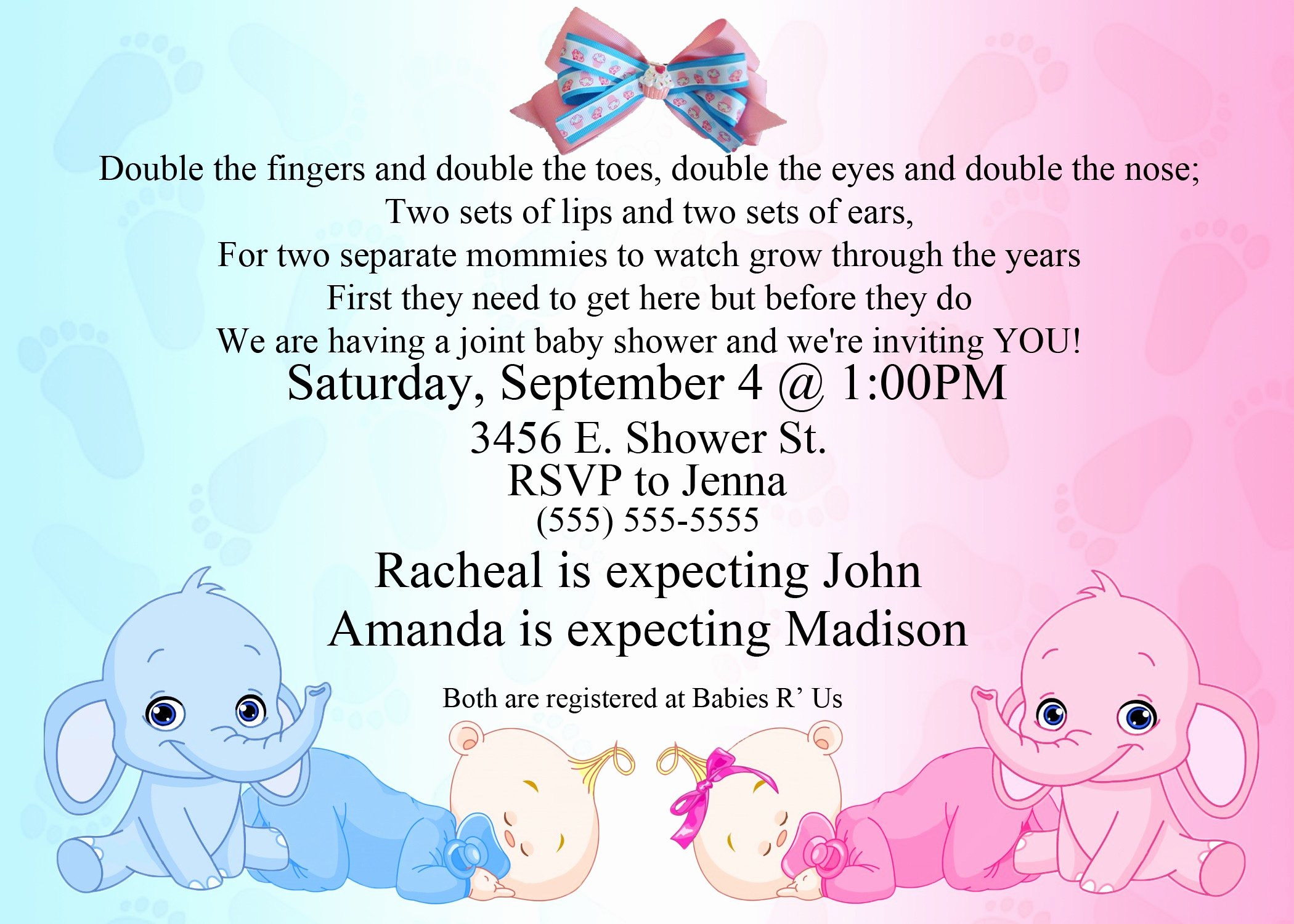 Baby Shower Template Word Lovely Baby Shower Templates for Word Mughals