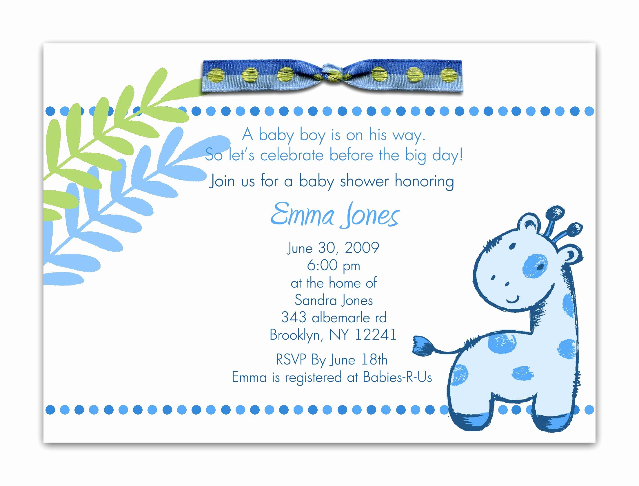Baby Shower Template Word Lovely Baby Shower Word Template Portablegasgrillweber